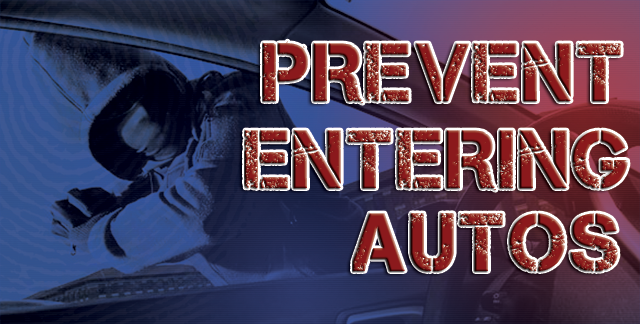 Prevent Entering Autos and Slider Crimes