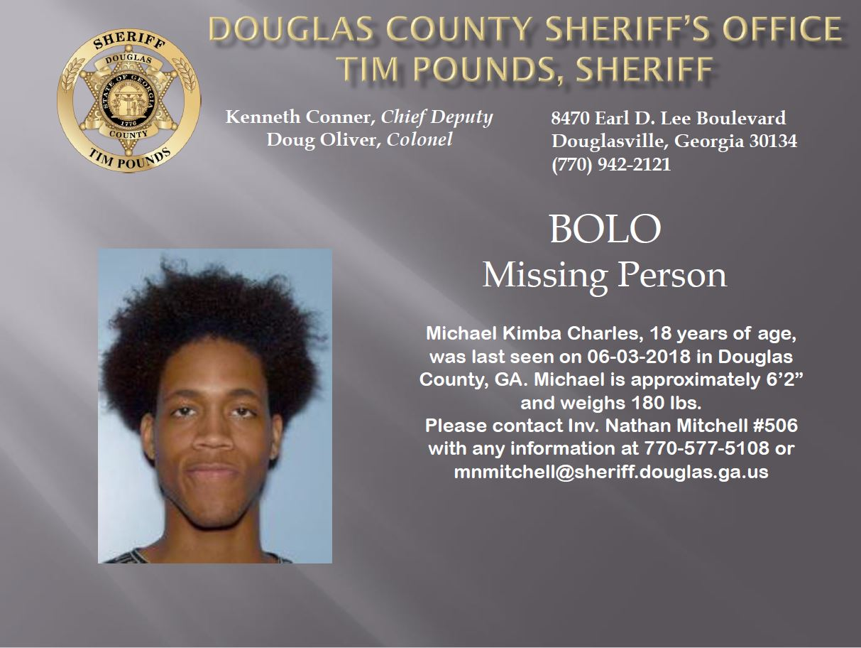 Missing: Michael Charles