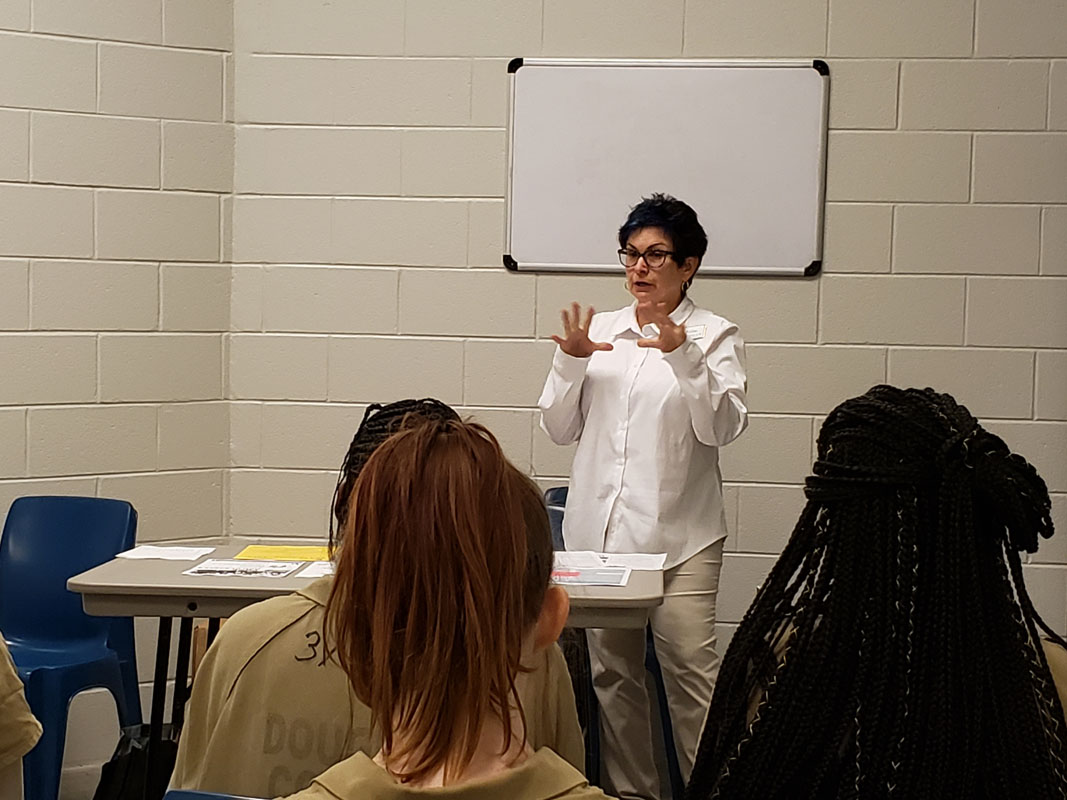 West GA Technical College Discusses Continuing Education with Inmates