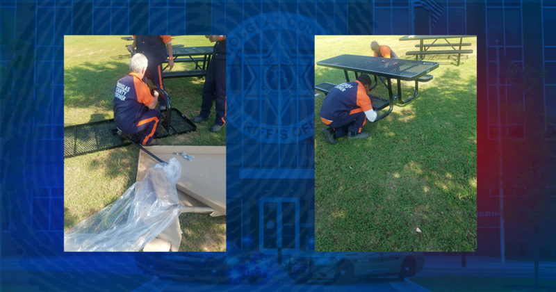 New Picnic Tables for Area Parks